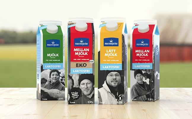 Norrlands godaste laktosfria mjölk